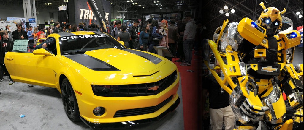 Chevrolet at New York Comic Con 2012.