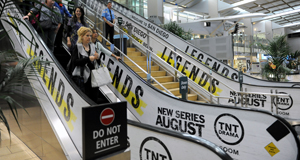 TNT's marketing campaign extends to San Diego International Airport.
