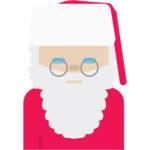 Finnish Emoji Santa Claus