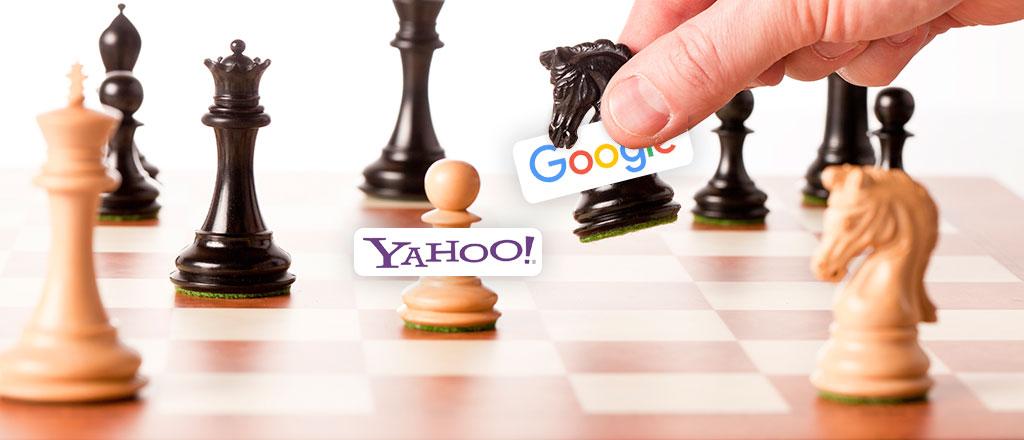 google vs yahoo leadership