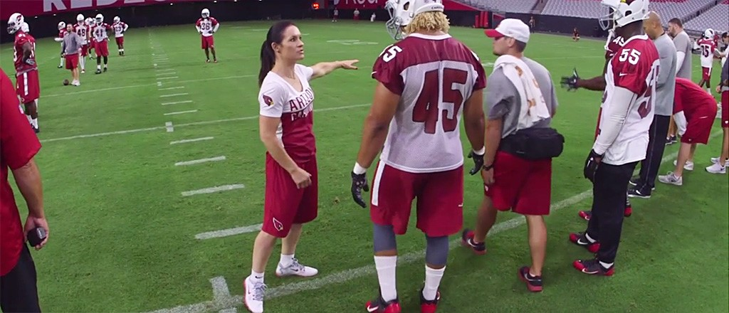 682f35c96ee The NFL s First Female Coach Shares Lessons From On and Off the Field