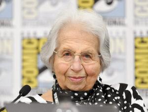 Holocaust survivor Ruth Goldschmiedova Sax